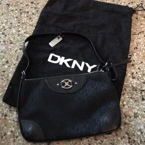 DKNY fabric/leather hand bag with dustbag pls read